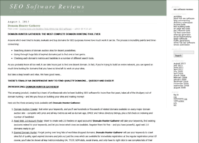 seosoftwarereviews.info