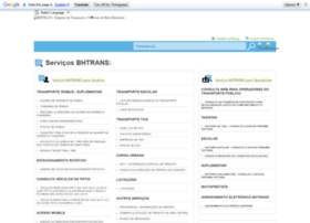 servicosbhtrans.pbh.gov.br