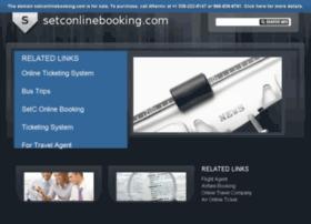 setconlinebooking.com