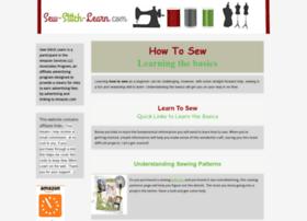 sew-stitch-learn.com