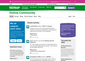 share.macmillan.org.uk