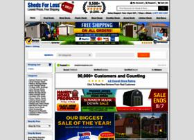 shedsforlessdirect.com