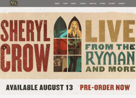 Sherylcrow.com