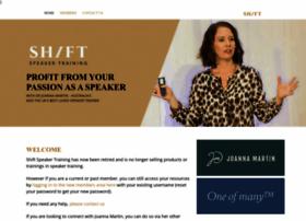 Shiftspeakertraining.com