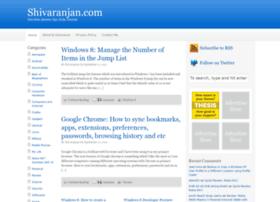 shivaranjan.com