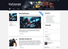 sigtutorials.com