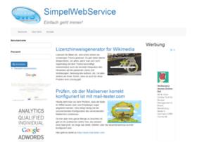 simpelwebservice.de