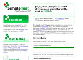 simpletest.org