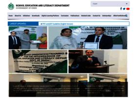 Sindheducation.gov.pk