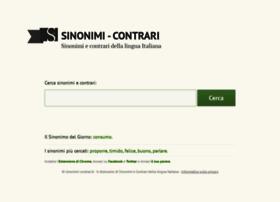 Sinonimi-contrari.it