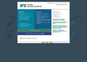 sistemanacionalempleo.es
