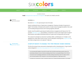 sixcolors.org