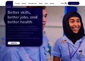 skillsforhealth.org.uk