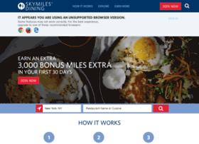 skymiles.rewardsnetwork.com