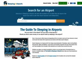 Sleepinginairports.net