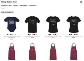 sleeptalkinman.spreadshirt.co.uk