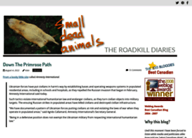 smalldeadanimals.com