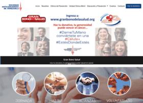 Sociedadanticancerosa.org.ve