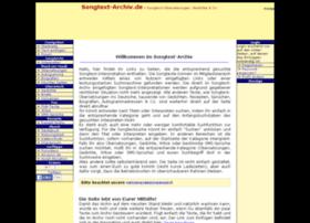 songtext-archiv.de