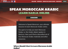 speakmoroccan.com