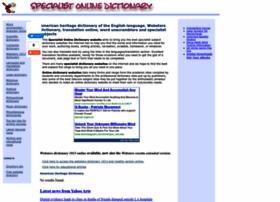 specialist-online-dictionary.com