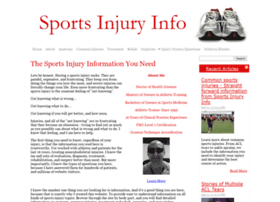 sports-injury-info.com