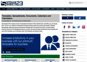 spreadsheet123.com