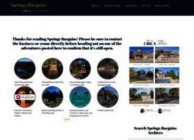 springsbargains.com