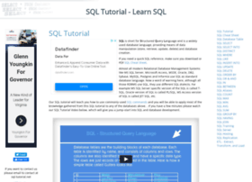 sql-tutorial.net
