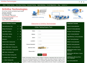 Srihithatechnologies.com