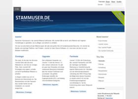 stammuser.de