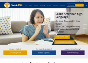 start-american-sign-language.com