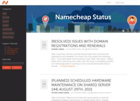 status.namecheap.com