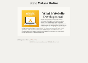 stevewatsononline.com