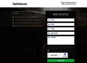 stopthesun.com