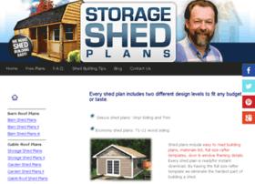 storageshed-plans.com