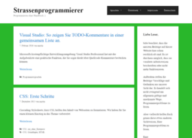 strassenprogrammierer.de