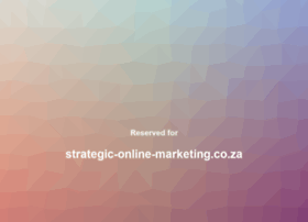 strategic-online-marketing.co.za