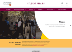 studentaffairs.mcmaster.ca