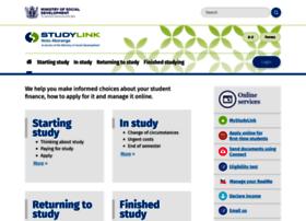 studylink.govt.nz
