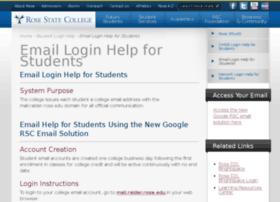 Stuwebmail.rose.edu