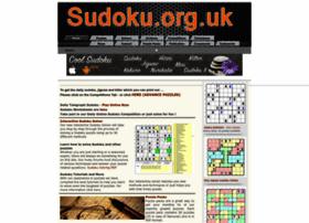 Sudoku.org.uk