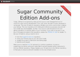 sugaropensource.org