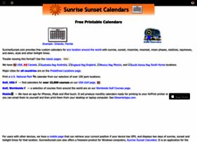Sunrisesunset.com