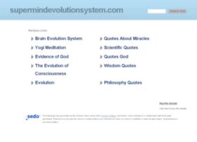 supermindevolutionsystem.com
