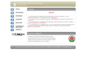 Supletivomg.caedufjf.net