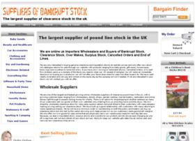 Suppliersofbankruptstock.co.uk