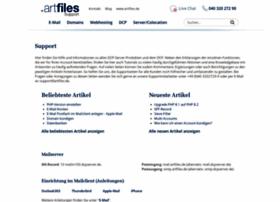 support.artfiles.de