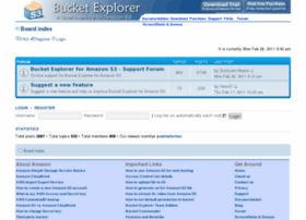 support.bucketexplorer.com