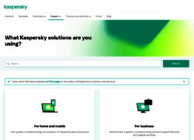 Support.kaspersky.com